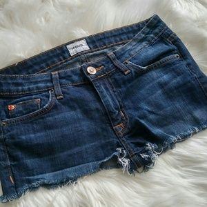 Hudson Cutoff Jean Shorts Size 27